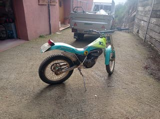 Montesa Cota 310 amarilla/verde
