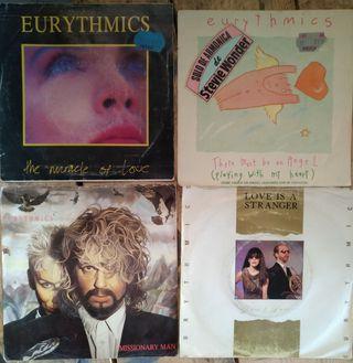 Singles vinilo Eurythmics