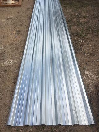 Chapa grecada trapezoidal panel tejado