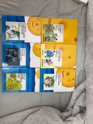Libros de lectura de primaria Verano Anaya