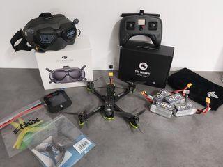 pack drone fpv hd + recambio!!!