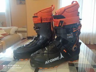 Bota esquí travesía Atomic backland carbon 28-28.5