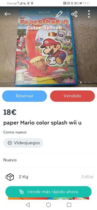 Mario paper y Mario kart