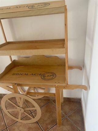 Carrito madera