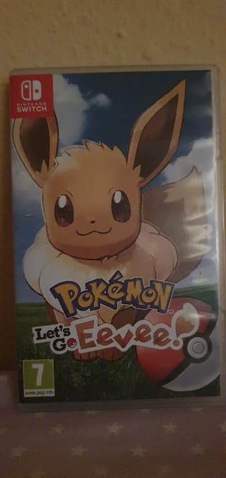 nintendo switch pokemon lets go eevee