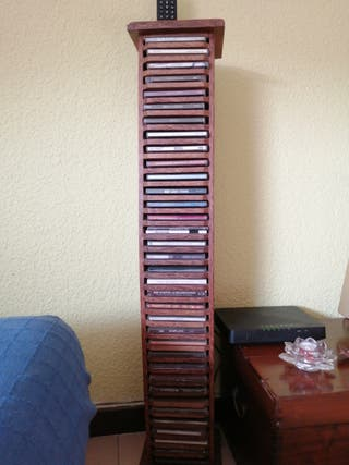Torre madera para CD.