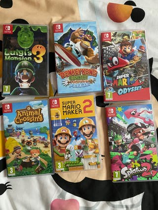 Videojuegos Nintendo switch