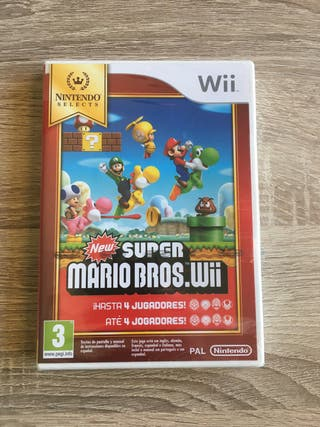 New super Mario Bros. Wii Precintado