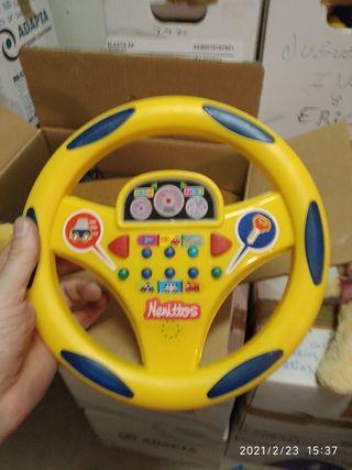 volante de juguete,+ teclado