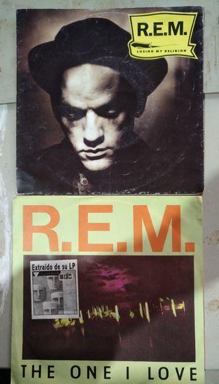 vinilo REM single