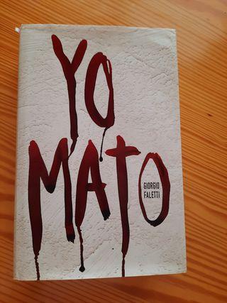 """Libro """"Yo mato"""""""