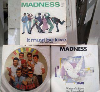 singles vinilo Madness