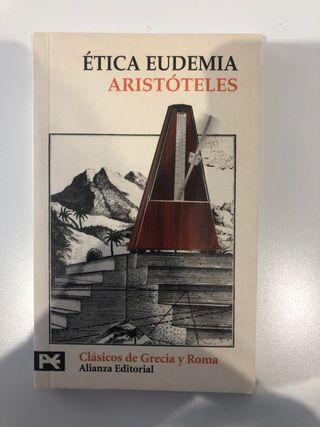 Libro Ética eudemia