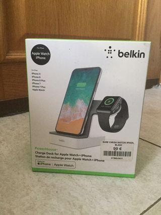 Belkin PowerHouse Apple Watch + iPhone - NUEVO