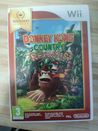 Donkey Kong Country Returns. Wii