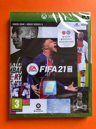 FIFA 21 XBOX ONE Y SERIES PRECINTADO