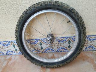 rueda delantera bici 16 pulgadas