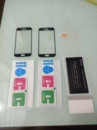 *3 Protectores Samsung S7 (NUEVOS)