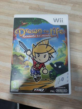Drawn to life, reinventa tu mundo. Wii