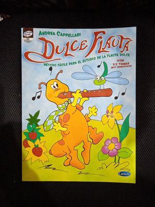 Libro partituras Flauta dulce