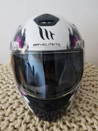 Casco moto Integral para mujer o niña