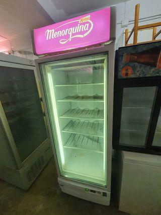 deja wasap congelador industrial de cristal