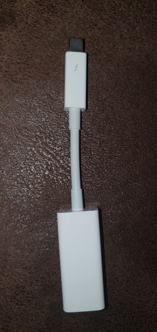 Adaptador Apple Thunderbolt a Gigabit Ethernet