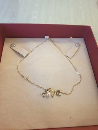 collar love majorica