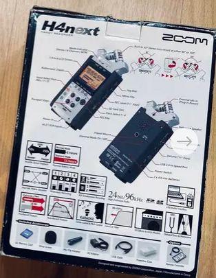 grabador multipistas Zoom handy recorder H4n - New