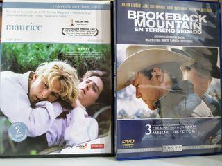 Brokeback Mountain y Matrices Dvd