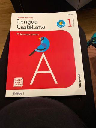 Lengua castellana primero pasos (PRIMER TRIMESTRE)