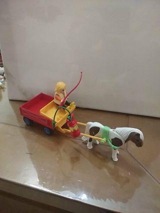 carreta infantil playmobil