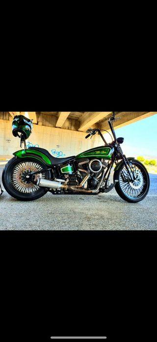 Harley Chopper Softail Cambio