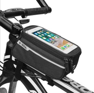 mochila para bicicleta, soporte para movil
