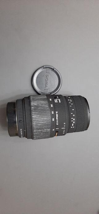 Sigma DG 70-300 F4-5.6 Macro. Pentax