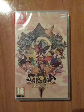 Sakuna of Rice and Ruin Switch