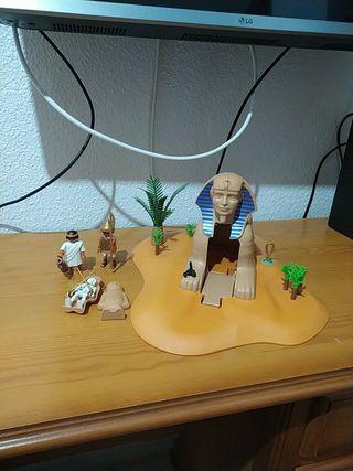 Esfinge de Playmobil