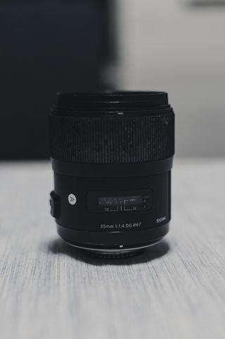 Vendo Sigma 35mm 1.4 Art Nikon