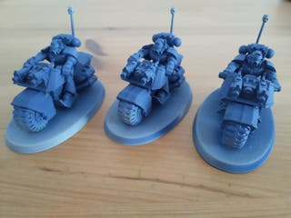 Marines Espaciales Motoristas - Warhammer 40k