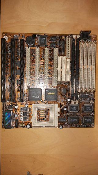 Placa base sin procesador