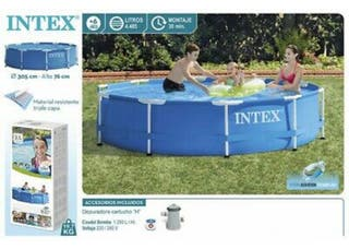 Piscina desmontable 305x76 intex