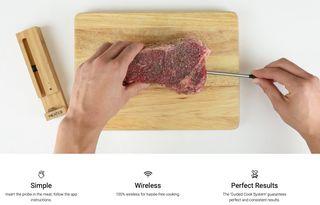 Meater Plus Bluetooth - termómetro de cocina