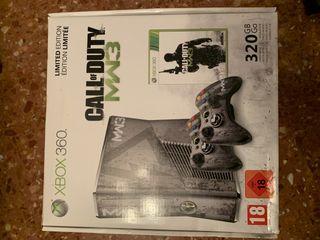 Xbox 360 Slim Edición Limitada MW3 320GB + 2 Mando