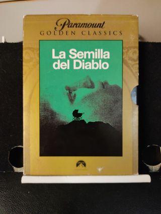 La Semilla del Diablo. DVD. Película.