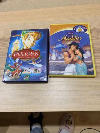 Lote 2 películas Disney
