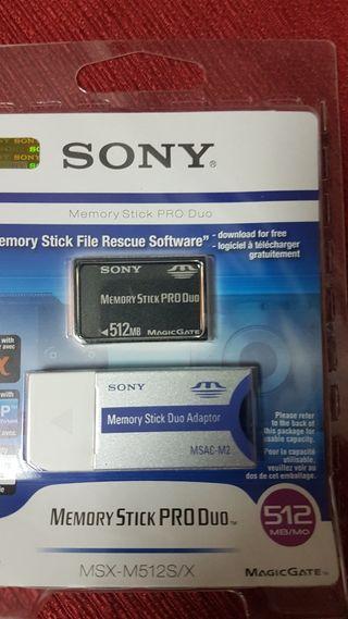 MEMORY STICK PRO DUO SONY 512MB