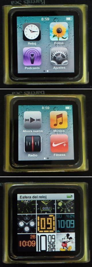 iPod nano 6 generación 16GB