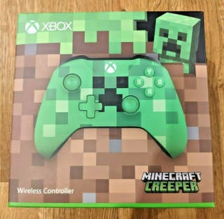 Mando Inalámbrico Xbox One Minecraft Creeper