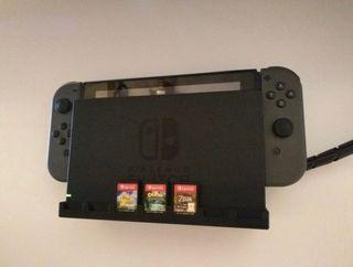 Soporte pared Nintendo Switch