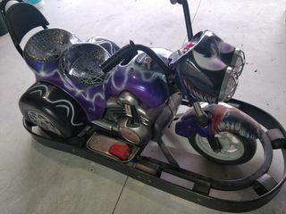Mini moto a fichas
